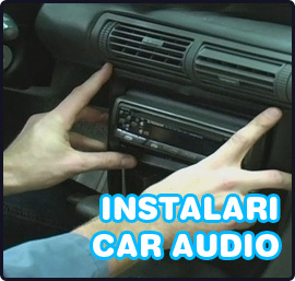 instalari car audio